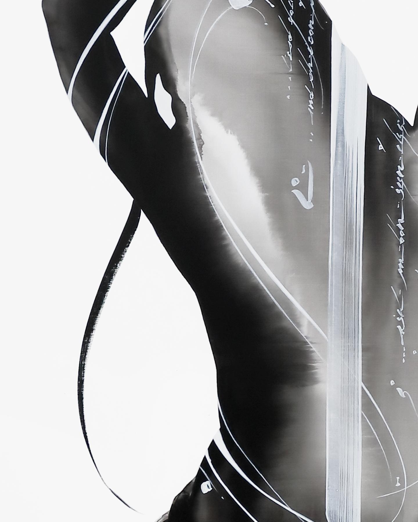 NOURAH 2 | Acrylic on canvas, 91 x 117cm, 2020, Model : Nourah Original
